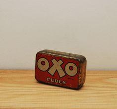 Vintage Oxo tin by LostPropertyVintage
