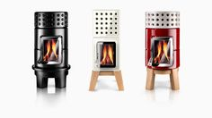 Stack, a modular, fully customizable ceramic system, by the Italian studio Adriano Design, that combines Italian craftsmanship with a contemporary aesthetic. The collection consists of five round and three square stackable units--handmade at the Castellamonte workshop in Turin--that can be stacked into a stove that is as much a piece of sculpture as a functional heater. www.stackstoves.com