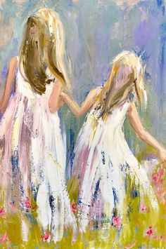 "Daily Paintworks - ""unconditional"" - Original Fine Art for Sale - © Carol Carmichael Watercolor Paintings, Angel Paintings, Indian Paintings, Abstract Paintings, Oil Paintings, Landscape Paintings, Watercolour, Painting People, Angel Art"