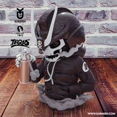 Toy design sculpt based on the artwork of Quiccs, digital sculpting for toy prototype Digital Sculpting, Small Studio, Designer Toys, The Martian, Baby Car Seats, Pop Culture, Behance, Children, Artwork