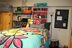 Freshman year! Dorm decor! PB Teen, Bed Bath and Beyond