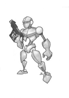 robot drawing deviantart robots club drawings zipup easy fi sci cartoon take robotics tutorials fave comment link