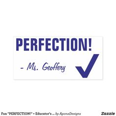 """"""" + Educator's Name Rubber Stamp created by AponxDesigns. Encouragement, Motivational, Stamps, Teacher, Student, Messages, Education, Fun, Inspiration"""