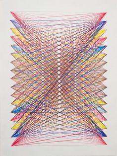 Créez des œuvres avec du fil à broder ou de la laine.: