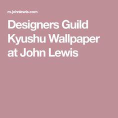 Designers Guild Kyushu Wallpaper at John Lewis