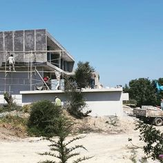 Progress photos of our project abroad! It's so exciting seeing photos (sent by our builder as we sadly can't be there 😕) and the progress they are making every day. Swimming pool progress photos coming next! Cyprus, See Photo, Swimming Pools, This Is Us, Cabin, Interior Design, House Styles, Outdoor Decor, Projects