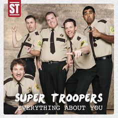 Cast Of 'Super Troopers' Re-Creates Iconic One Direction Moments Super Troopers, Everything About You, Ol Days, Zayn, One Direction, It Cast, In This Moment, Funny, Movies