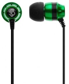 Skullcandy Green S2INDY-037 Ink'd In-Ear Earphone With MIC (Green)