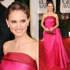 Natalie Portman pink dress Via fred munro  DelysiaStyle  Pinups ...