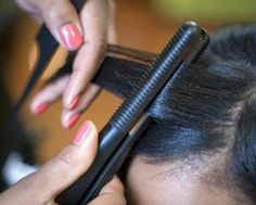 All women, especially women of colour who suffer from heat damage, should invest in a proper flat iron.   The Best Flat Irons for Professional Hair Stylists: Sedu Revolution Tourmaline Ionic Styling Iron 1