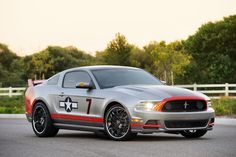2013 Ford Mustang GT 'Red Tail' Special: Inspired by WWII P-51 Mustang Fighter Aircraft