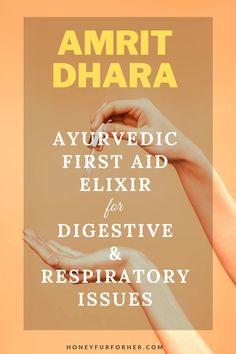 Amrit Dhara Ayurvedic Medicine For Asthma, Loose Motion, Vomiting, Stomach Pain, Gas, Toothache And Digestive Health #herbsforhealth #naturalsupplements #ayurveda #ayurvedalife #honeyfurforher