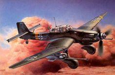Junkers Ju 87G Hans-Ulrich Rudel, by Shigeo Koike ~ BFD