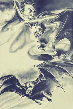 Dracula - art by Gene Colan (1979)
