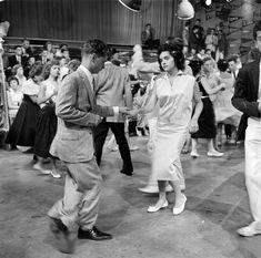 Tony Porrini and Arlene Sullivan - American Bandstand