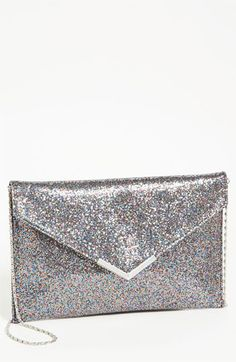 Tarnish Glitter Envelope Clutch available at #Nordstrom
