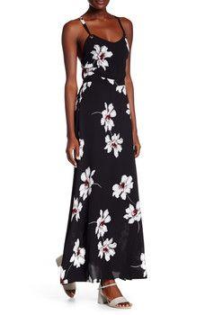 Dress Forum - Floral Print Maxi Dress