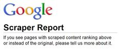 Someone Outranking You With Your Own Content? Use The New Google Scraper Report