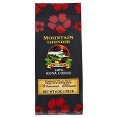 Mountain Thunder Premium Vienna Roast Whole Bean 6 oz