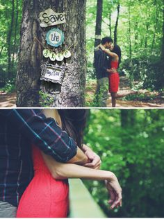 love this idea for a save the date! :)