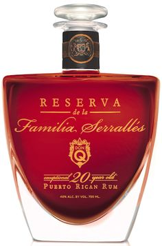 Serrallés and its Don Q Rum brand both celebrated their anniversaries in To mark the occasion, sixth-generation rum maker Roberto Serrallés Whisky, Cigars And Whiskey, Scotch Whiskey, Alcohol Bottles, Liquor Bottles, Vodka, Hard Drinks, Good Rum, Puerto Rico