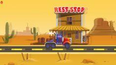 子供向けアニメ 子供のための列車やトラックのアニメーション   Trains &  Trucks Builder For kids animat...