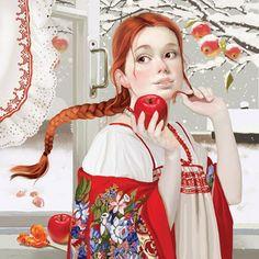 Russian Art by illustrator Tatyana Doronina