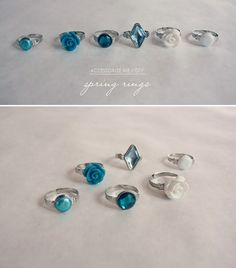 accessorize me / DIY: rings for spring