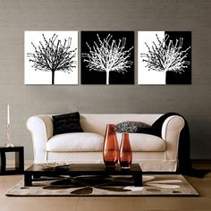 Venda quente 3 Panels interessante enorme Modern Superb charme ...