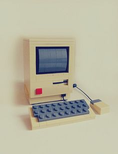 Lego Apple Macintosh by Chris McVeigh