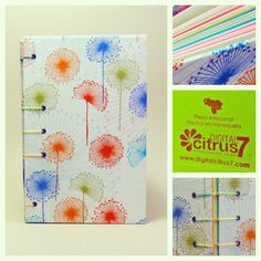 Libreta artesanal, perfectamente hecha a mano. La puedes utilizar como block, sketch book, bitácora, álbum....
