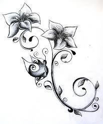 Image result for flower tattoos