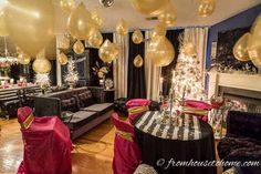 32 Best Elegant Party Themes images | Dinning table, Table ...