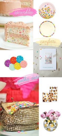 """love the idea of a """"sprinkles"""" themed shower/party!"""