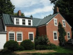 Lovely Brick Homes With Metal Roofing Photos