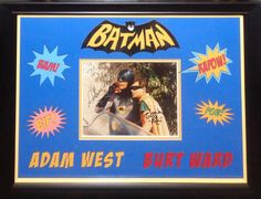 Antiquities LV - Batman Signed Photo By 2, $1,495.00…