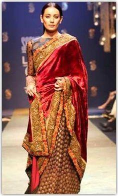 Sabyasachi Sarees - Latest Collection, Bollywood Sarees, Bridal Sarees