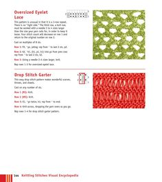 ISSUU - Knitting stitches visual Encyclopedia by Elena Petrova