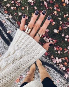 Super Ideas For Fall Pedicure Colors Opi Gel Pedicure, Pedicure Colors, Manicure And Pedicure, Manicure Ideas, Fall Manicure, Black Pedicure, Nail Tips, Fall Nail Art Designs, Short Nail Designs