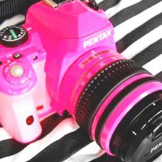 #pink #camera #girly #memories #photos