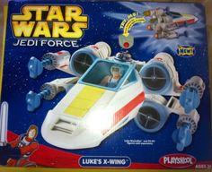STAR WARS JEDI FORCE LUKE'S X-WING BY PLAYSKOOL (2004)