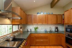 Pacific NW Mid-Century Kitchen Remodel - midcentury - kitchen - seattle - by Crescent Builds