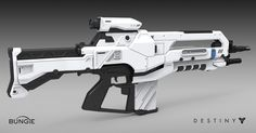 ArtStation - Destiny - House of Wolves - Assault Rifle, Matt Lichy