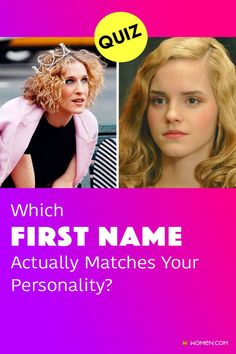 Do you think your personality matches your given name? If you have ever wondered what other name would suit you, then give this quiz a try! #personalityquiz #firstnamequiz #namepersonalityquiz #yourname #nametag #aboutyourname #namelist #personalitytest #innerpersonality #whoareyou #aboutyou #personality Color Personality Test, Personality Quizzes, Name List, Name Tags, First Names, Thinking Of You, How To Find Out, Thinking About You, Name Labels