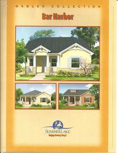 Summerlake Center Line Homes Gables Collection Bar Harbor Model In Winter  Garden FL