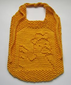 Ravelry: A Cheep Bib pattern by Elaine Fitzpatrick