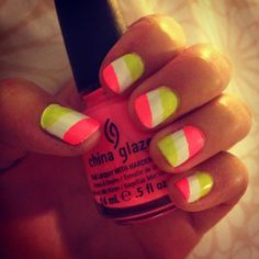 Neon nails... menchie nails
