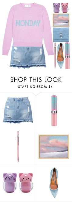 """Morning Peace"" by grozdana-v ❤ liked on Polyvore featuring Steve J & Yoni P, Caran D'Ache, Pottery Barn, Forever 21 and Ermanno Scervino"