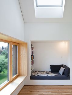 Haus Höchst, Höchst, Nina Mair, Georg Bechter, C… Modern Interior Design, Interior Architecture, Beautiful Architecture, Home Office Design, Detached House, Cheap Home Decor, Home And Living, Living Room, Home Remodeling