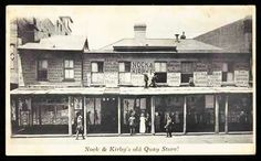The original Nock and Kirby store at Circular Quay,Sydney in 1900.Photo from National Museum of Australia.A♥W